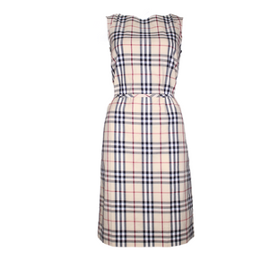 Burberry Nova Check Summer Dress-BASEMENT SIX