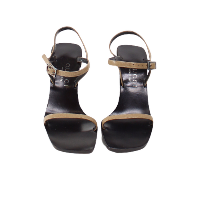 Gucci Strappy 90s Sandals-BASEMENT SIX