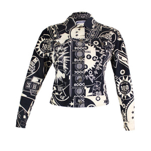 Moschino Casino 90's Printed Jacket-BASEMENT SIX