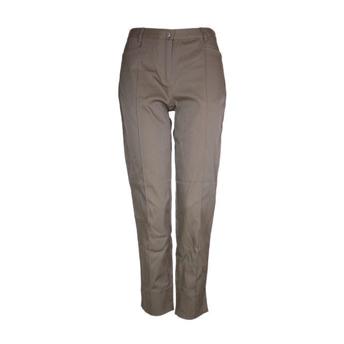 Dolce & Gabbana D&G Khaki Tailored Trousers-BASEMENT SIX