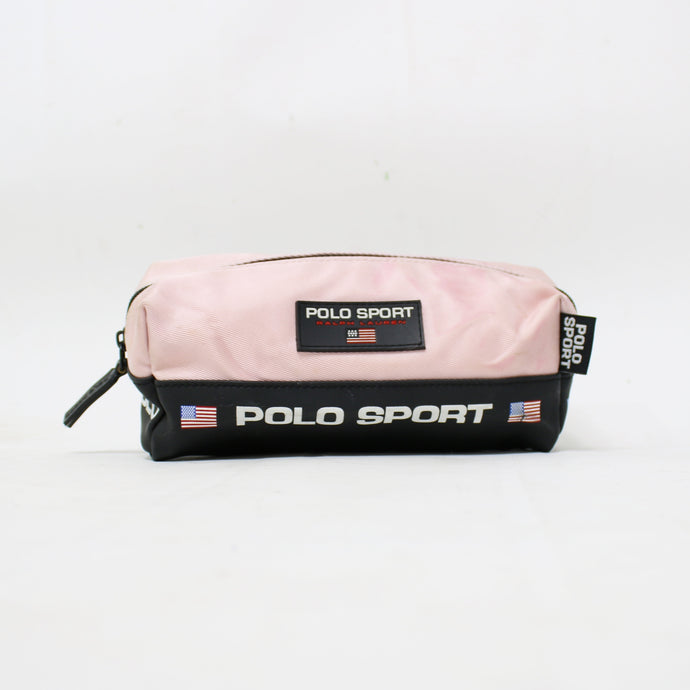 POLO RALPH LAUREN TOILETRY STATIONARY BAG-BASEMENT SIX