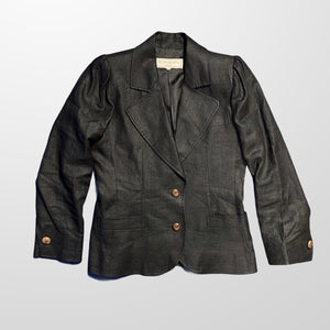 YVES SAINT LAURENT YSL BLAZER JACKET-BASEMENT SIX