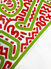 KEITH HARING - UNTITLED 1983 FINE ART PRINT-BASEMENT SIX