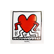 KEITH HARING - UNTITLED 1984 FINE ART PRINT-BASEMENT SIX