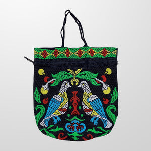 VINTAGE BEADED HAND BAG-BASEMENT SIX