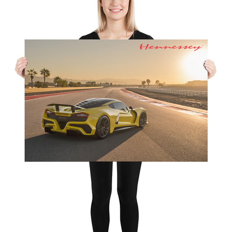 Hennessey Venom F5 Official Poster