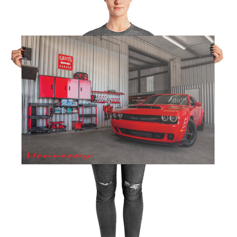 "Hennessey Performance Griot's Garage Poster 36"" x 24"""