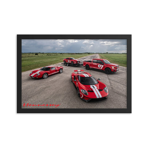 Hennessey Heritage Edition Vehicles Framed poster
