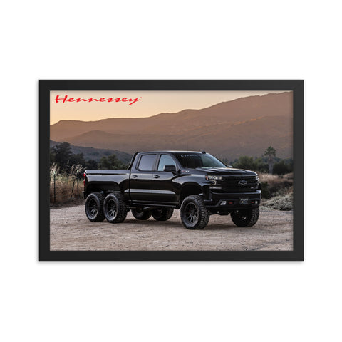 Hennessey GOLIATH 6X6 Framed Poster