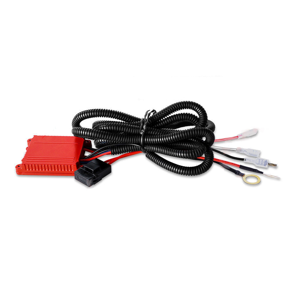 Dual Color Wiring Harness Kit For Led Light Bar With Remote Numbered Hover To Zoom