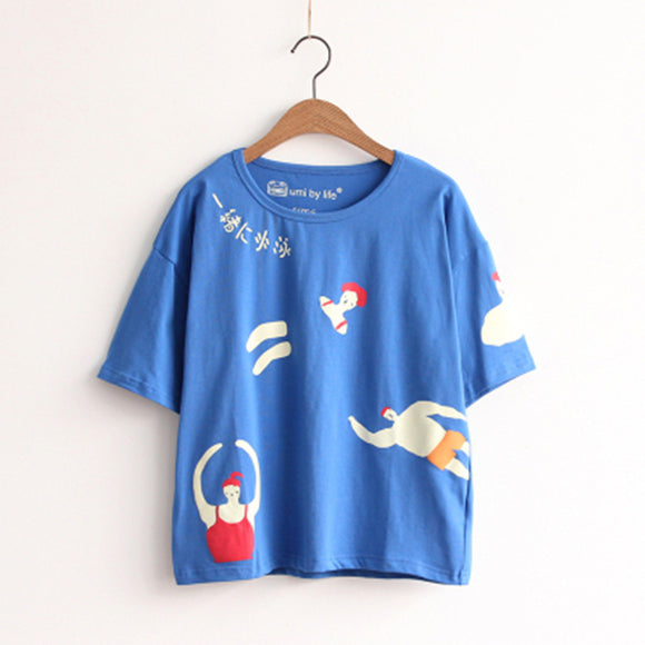 'Cute Cartoons' Tee