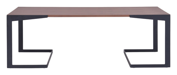 Sister Coffee Table is From the Indoor Collection designed in MDF, Metal and Walnut Veneer. Sister Collection part of the Coffee, Side, Consoles,Coffee, Side, Consoles set.