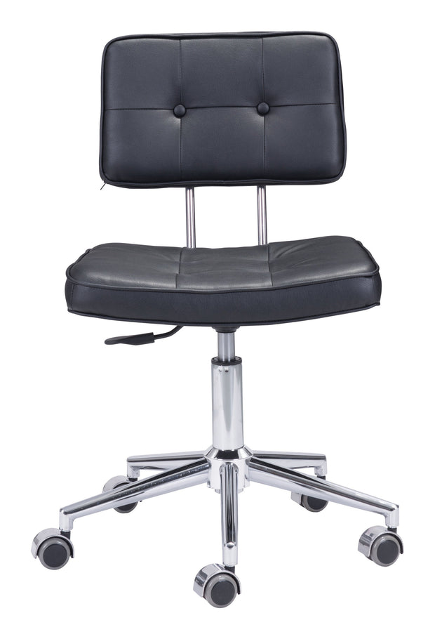 Series Office Chair Black is From the Indoor Collection designed in Chromed Steel and Leatherette. Series Collection part of the Chairs set.