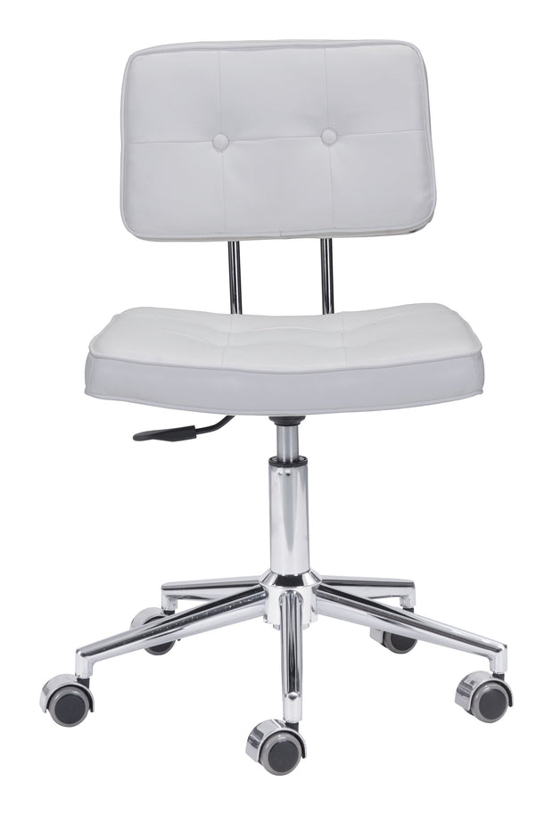 Series Office Chair White is From the Indoor Collection designed in Chromed Steel and Leatherette. Series Collection part of the Chairs set.