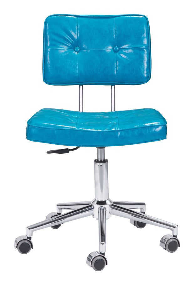 Series Office Chair Blue is From the Indoor Collection designed in Chromed Steel and Leatherette. Series Collection part of the Chairs set.