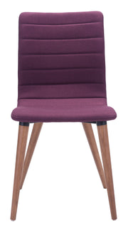 Jericho Dining Chair Purple is From the Indoor Collection designed in Powder Coated Metal, Solid Wood and Polyblend. Jericho Collection part of the Chairs, Stools set.