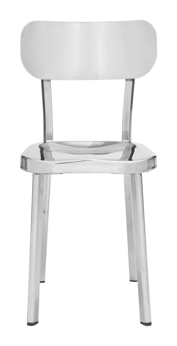 Winter Chair Stainless Steel is From the Indoor Collection designed in Polished Stainless Steel . Winter Collection part of the Chairs, Stools set.