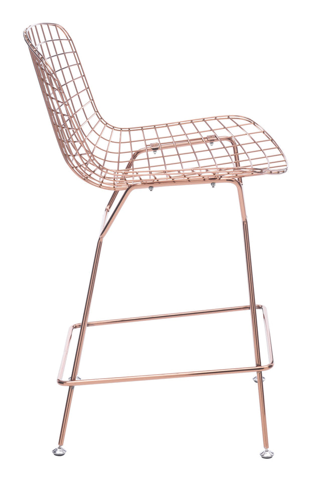 Wire Counter Chair (Set of 2)