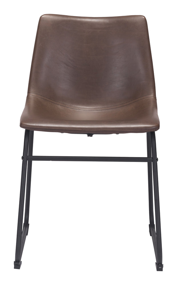 Smart Dining Chair Vintage Espresso is From the Indoor Collection designed in Plywood, Metal and Leatherette. Smart Collection part of the Chairs, Stools set.