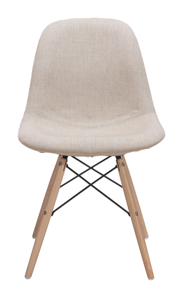Selfie Dining Chair Beige is From the Indoor Collection designed in Beech Wood, Metal and Polyester Linen. Selfie Collection part of the Chairs, Stools set.