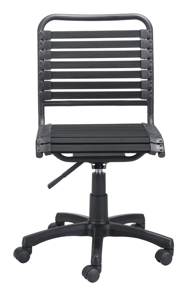 Stretchie Office Chair Black is From the Indoor Collection designed in Metal and Rubber Core Cord, Polyester Sheath. Stretchie Collection part of the Chairs set.