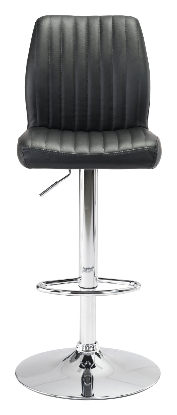 Willful Bar Chair Black is From the Indoor Collection designed in Chromed Steel and Leatherette. Willful Collection part of the Chairs, Stools set.