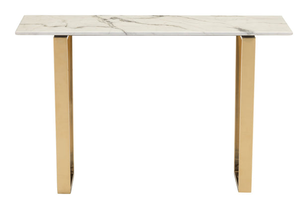 Atlas Console Table Stone & Gold is From the Indoor Collection designed in Brass-Plated Steel and Faux Marble. Atlas Collection part of the Coffee, Side, Consoles set.