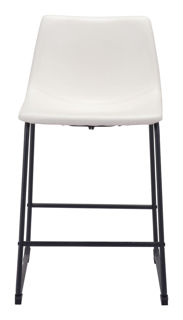 Smart Counter Chair Distressed White is From the Indoor Collection designed in Steel and Leatherette. Smart Collection part of the Chairs, Stools set.