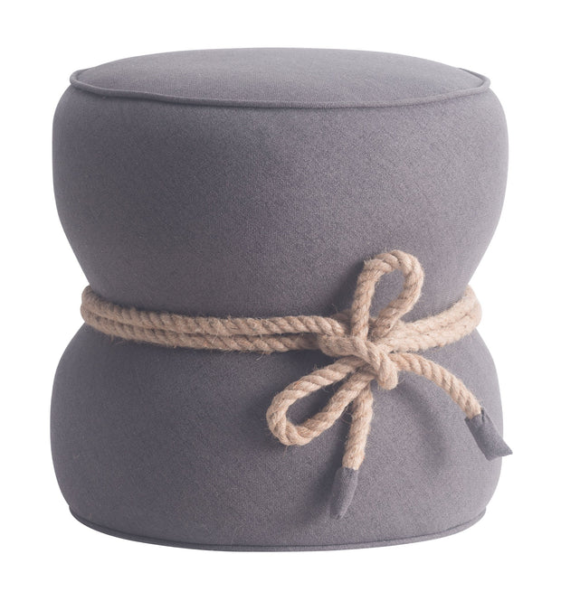 Tubby Ottoman Gray is From the Indoor Collection designed in Wood and Polyblend. Tubby Collection part of the Stools, Ottomans set.