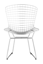 Wire Dining Chair Chrome is From the Indoor Collection designed in Chromed Steel . Wire Collection part of the Chairs, Stools set.