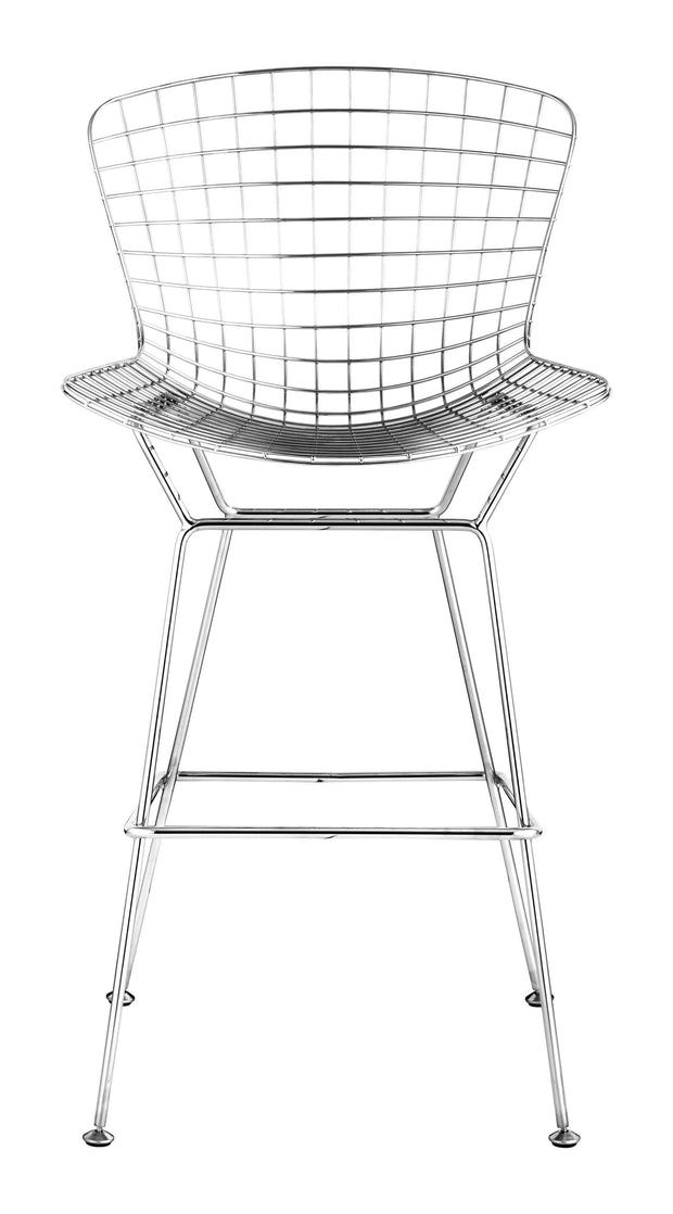 Wire Bar Chair Chrome is From the Indoor Collection designed in Chromed Steel . Wire Collection part of the Chairs, Stools set.