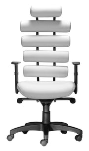 Unico Office Chair White is From the Indoor Collection designed in Painted Metal and Leatherette. Unico Collection part of the Chairs set.