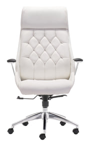 Boutique Office Chair White is From the Indoor Collection designed in Chromed Steel and Leatherette. Boutique Collection part of the Chairs set.