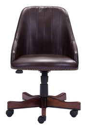 Maximus Office Chair Brown is From the Indoor Collection designed in Poplar and Leatherette. Maximus Collection part of the Chairs set.