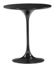 Wilco Side Table Black is From the Indoor Collection designed in Fiberglass and MDF. Wilco Collection part of the Coffee, Side, Consoles set.