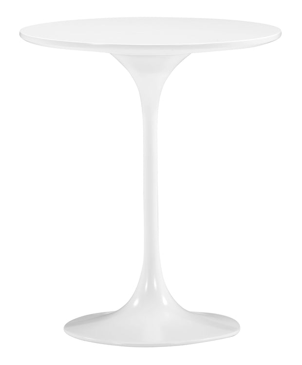 Wilco Side Table White is From the Indoor Collection designed in Fiberglass and MDF. Wilco Collection part of the Coffee, Side, Consoles set.
