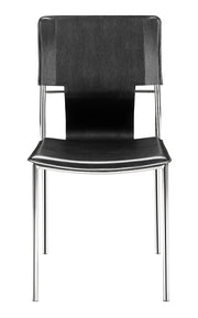 Trafico Dining Chair Black is From the Indoor Collection designed in Chromed Steel and Leatherette. Trafico Collection part of the Chairs, Stools set.