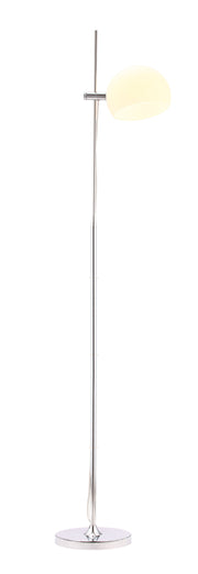 Astro Floor Lamp From the Lighting Collection in Chrome with Foot Switch. Astro Floor Lamps bulb type is Type A19 with Max bulb watt at 60W with socket size E26