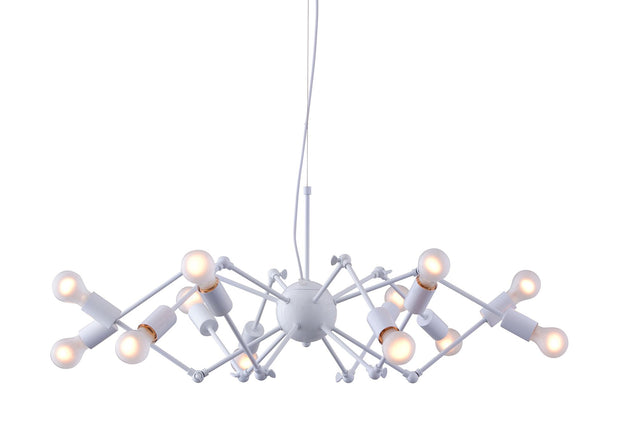 Sleet Ceiling Lamp From the Lighting Collection in Painted Metal . Sleet Ceiling Lamps bulb type is Type A19 Frosted white with Max bulb watt at 25W with socket size E26