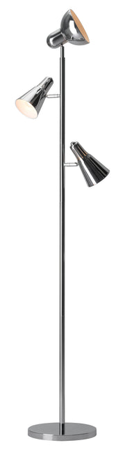 Shuttle Floor Lamp From the Lighting Collection in Metal with In-line Switch. Shuttle Floor Lamps bulb type is G45 with Max bulb watt at 40W with socket size E12