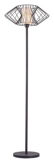 Tumble Floor Lamp From the Lighting Collection in Marble with In-line Switch. Tumble Floor Lamps bulb type is Type A19 Frosted White with Max bulb watt at 60W with socket size E26