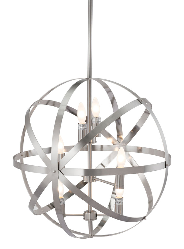 Aston Ceiling Lamp Satin Nickel From the Lighting Collection in Metal . Aston Ceiling Lamps bulb type is Type B with Max bulb watt at 40W with socket size E12