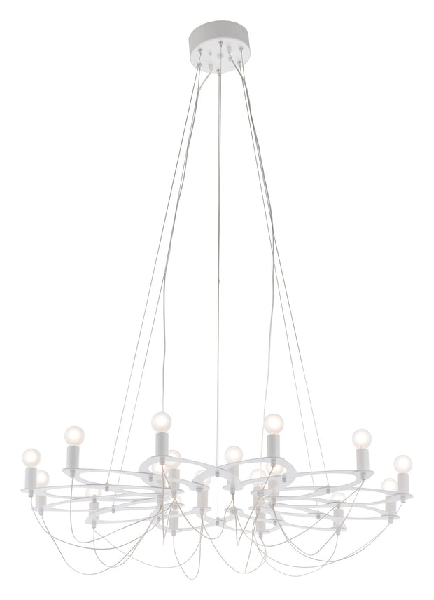 Scala Ceiling Lamp White From the Lighting Collection in Metal . Scala Ceiling Lamps bulb type is G50 with Max bulb watt at 25W with socket size E12