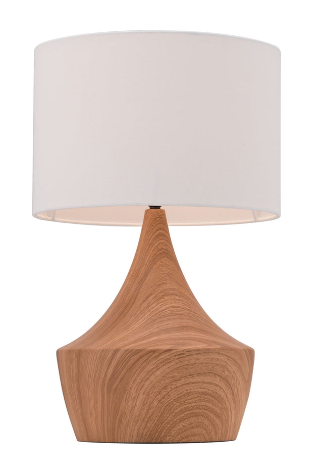 Kelly Table Lamp White & Brown From the Lighting Collection in Steel with ROTARY, SUIT DIMMER. Kelly Table Lamps bulb type is A19 with Max bulb watt at 60W with socket size E26