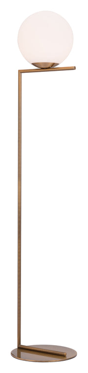 Belair Floor Lamp Brass From the Lighting Collection in Steel with FOOT, SUIT DIMMER. Belair Floor Lamps bulb type is A19 with Max bulb watt at 40W with socket size E26