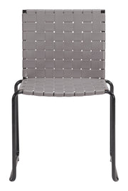 Beckett Dining Chair Light Gray is From the Outdoor Collection designed in Steel and Pvc. Beckett Collection part of the Chairs, Stools set.