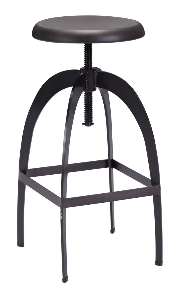 Aristotle Barstool Antique Black is From the Indoor Collection designed in Metal and Powder Coating. Aristotle Collection part of the Chairs, Stools set.