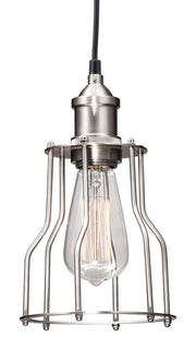 Adamite Ceiling Lamp From the Lighting Collection in Metal . Adamite Ceiling Lamps bulb type is Type ST64 with Max bulb watt at 40W with socket size E26