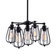Porirua Ceiling Lamp Distressed Black From the Lighting Collection in Metal . Porirua Ceiling Lamps bulb type is Type ST64 with Max bulb watt at 25W with socket size E26