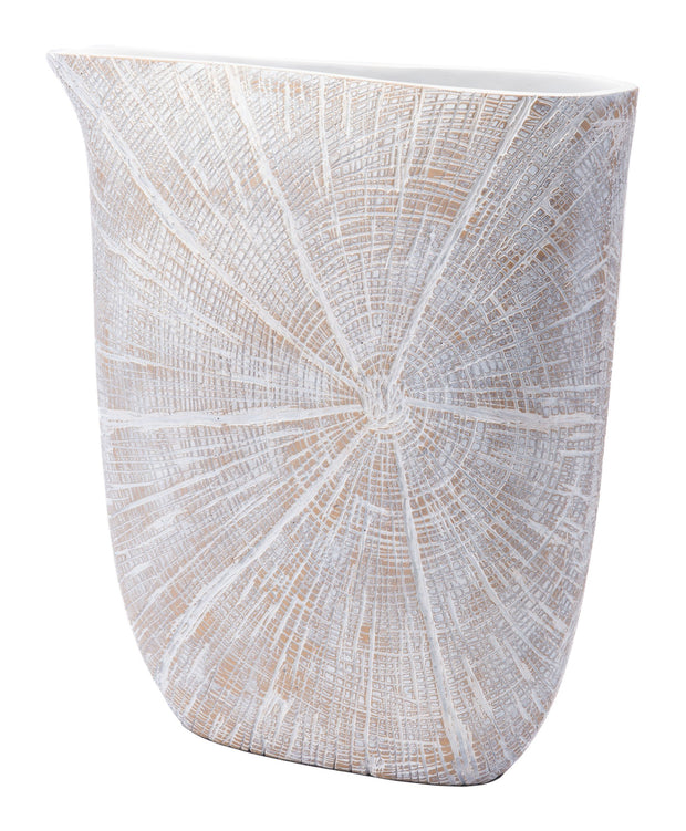 White Poly Jar Large